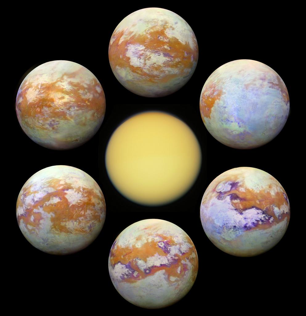Titan - der größte Mond von Saturn